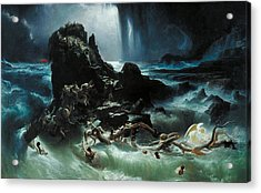 Deluge Acrylic Print by Francis Danby