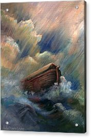 Deluge Acrylic Print by Judy Downs