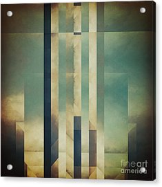 Demagogic Sky Acrylic Print by Lonnie Christopher