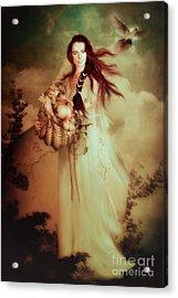 Demeter Acrylic Print by Shanina Conway
