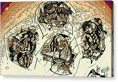 Demolitia Acrylic Print by Doug Petersen