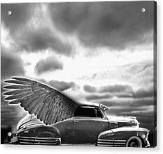 Demon Chevrolet Acrylic Print by Larry Butterworth
