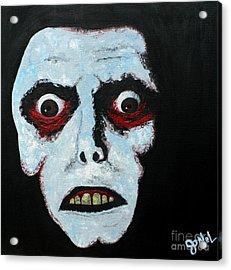 Demon Face Acrylic Print