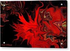 Demon Ocular M Scintillation Acrylic Print