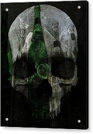 Demons In Bottles  Acrylic Print