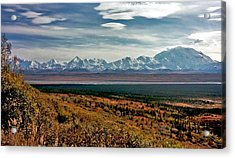 Acrylic Print featuring the photograph Denali Colors by Jeremy Rhoades