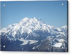 Denali From The Air Acrylic Print