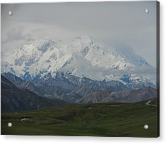 Acrylic Print featuring the photograph Denali by Karen Molenaar Terrell
