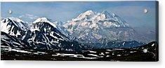 Acrylic Print featuring the photograph Denali National Park Panorama by John Haldane