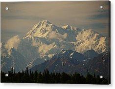 Denali  Or Mt Mckinley Acrylic Print