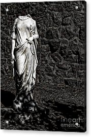 Denial Of Death Acrylic Print by Colleen Kammerer