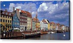 Denmark, Copenhagen, Nyhavn Acrylic Print by Panoramic Images