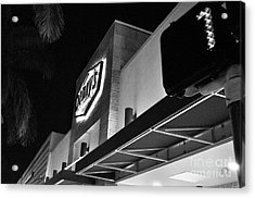 Denny's Store Front Acrylic Print by Andres LaBrada