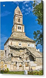 Densus Church Acrylic Print by Gabriela Insuratelu