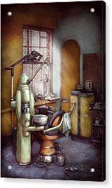 Dentist - Dental Office Circa 1940's Acrylic Print by Mike Savad