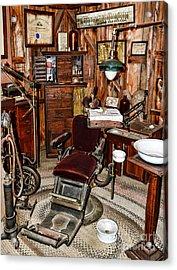 Dentist - The Dentist Chair Acrylic Print