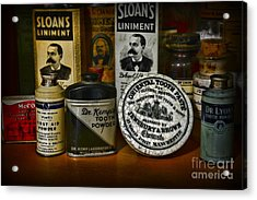 Dentist - Tooth Powder And More Acrylic Print