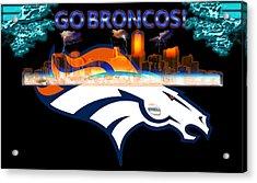 Denver Broncos 3 Acrylic Print