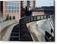 Denver Rail Yard Acrylic Print
