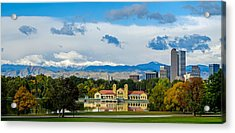 Denver's City Park Acrylic Print