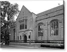 Depaul University Cortelyou Commons Acrylic Print by University Icons