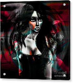 Depraved Of Dreams Acrylic Print by Ashantaey Sunny-Fay