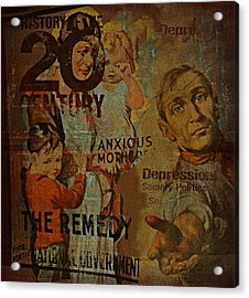 Depression In The 20th Century - 2 Acrylic Print