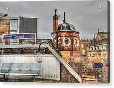 Acrylic Print featuring the photograph Deptford Station by Ross Henton