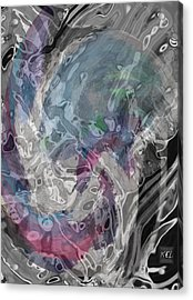 Acrylic Print featuring the digital art Depth by Kelly McManus