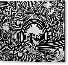 Depth1 Acrylic Print