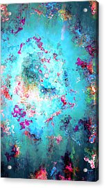 Depths Of Emotion - Abstract Art Acrylic Print by Jaison Cianelli