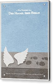 Der Himmel Uber Berlin  Wings Of Desire Acrylic Print by Ayse Deniz