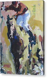 Acrylic Print featuring the painting Derby Dwellers by Robert Joyner
