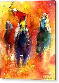 Derby Horse Race Racing Acrylic Print