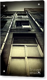 Acrylic Print featuring the photograph Derelict Building by Craig B