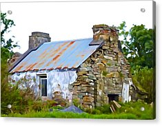 Derelict Acrylic Print by Charlie Brock