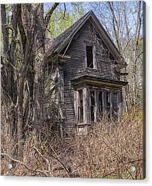 Derelict House Acrylic Print by Marty Saccone