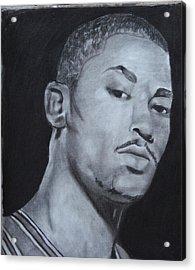 Derrick Rose Acrylic Print