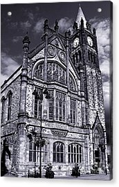 Acrylic Print featuring the photograph Derry Guildhall by Nina Ficur Feenan