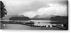 Derwent Water In The Lake District Of England Acrylic Print by David Murphy