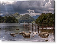 Derwent Water Towards Catsbells Acrylic Print
