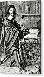 Descartes, Rene (la Haye, Touraine Acrylic Print by Prisma Archivo