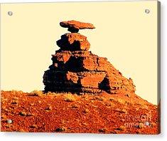 Desert Balance Act Acrylic Print by John Potts