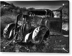 Desert Beauty Death Valley California Acrylic Print by Bob Christopher