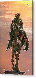 Desert. Bedouin. Acrylic Print by Dr Loifer Vladimir