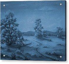 Desert Blues Acrylic Print