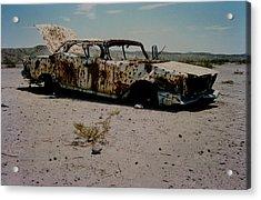 Desert Car Acrylic Print