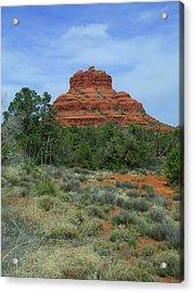 Desert Castle Acrylic Print