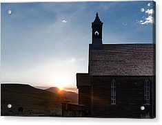 Desert Church  Acrylic Print