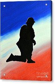Desert Duty II Acrylic Print